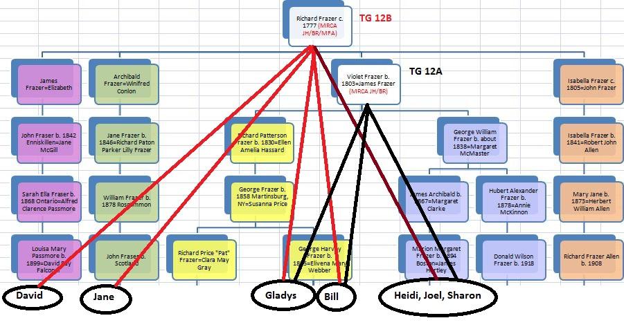 TG 12 Chart